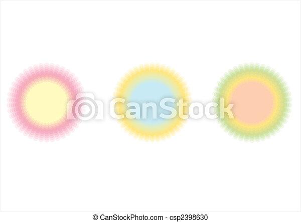Anillos  ⁇  círculos - csp2398630