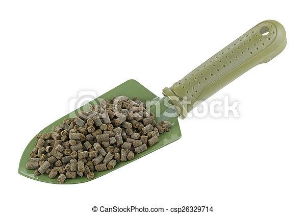 Animal-based Fertilizer Pellets - csp26329714