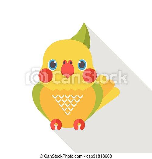 animal bird flat icon - csp31818668