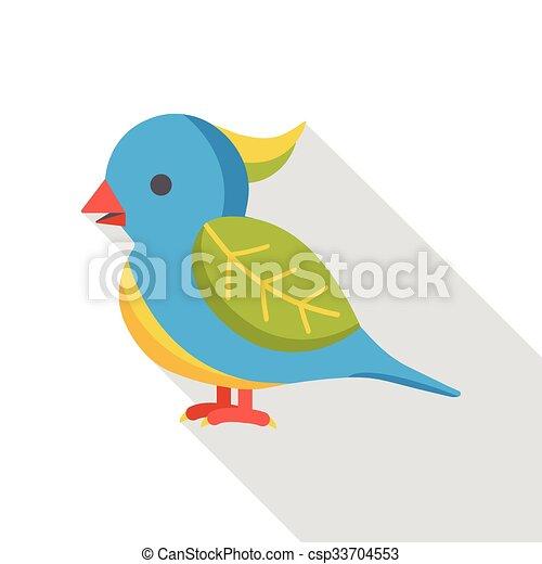 animal bird flat icon - csp33704553