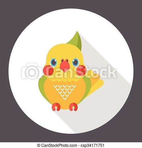 animal bird flat icon - csp34171751