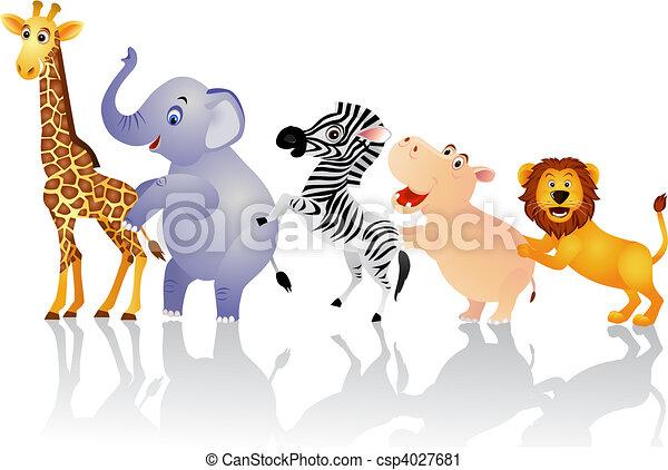 Animal feliz - csp4027681