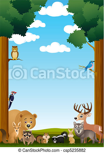 Animal in the jungle - csp5235882