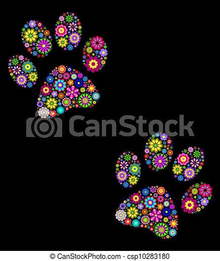 animal paw - csp10283180