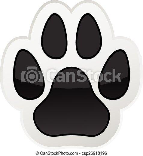 Animal Paw Print - csp26918196