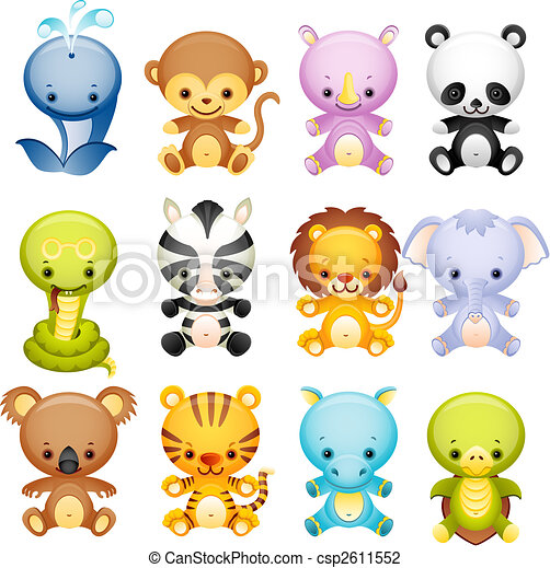 Animal salvaje - csp2611552