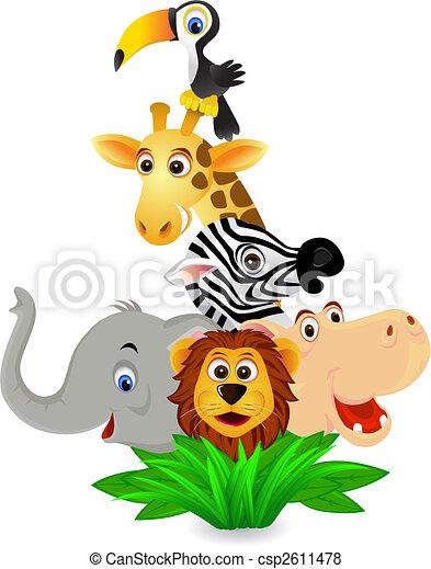 animal selvagem - csp2611478