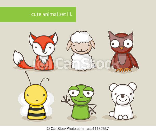 Animal set - csp11132587