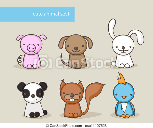Animal set  - csp11107628