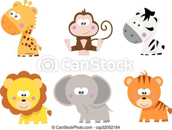 Animales safari - csp32052184