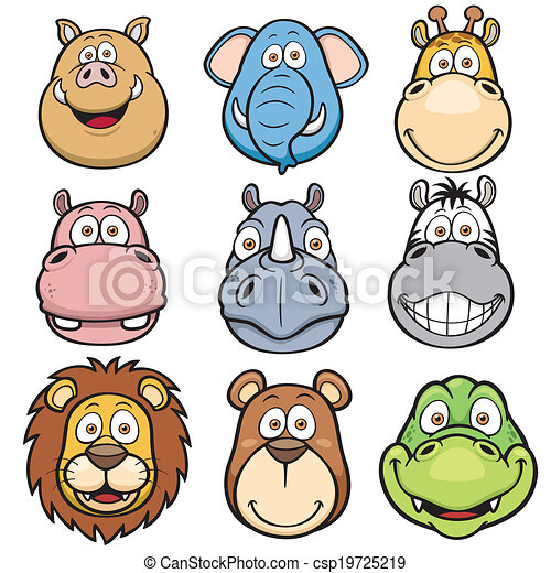 Animales salvajes - csp19725219
