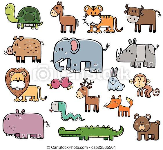 Animales salvajes - csp22585564