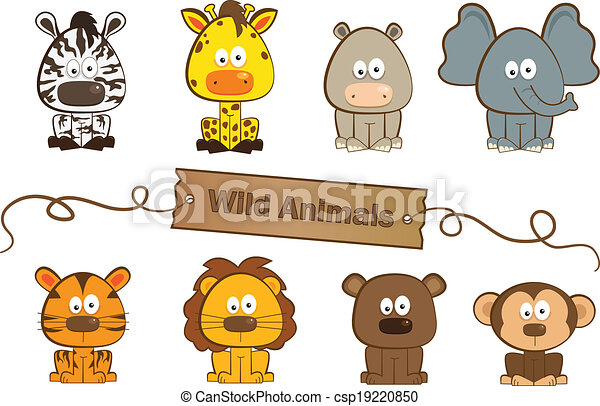 Animales salvajes - csp19220850