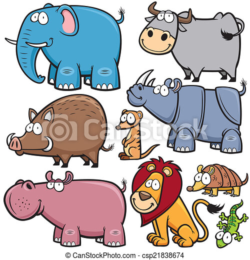 Animales salvajes - csp21838674