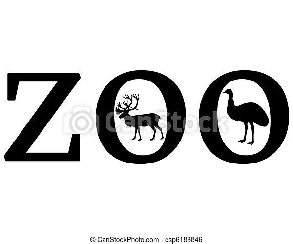Animales zoológicos - csp6183846