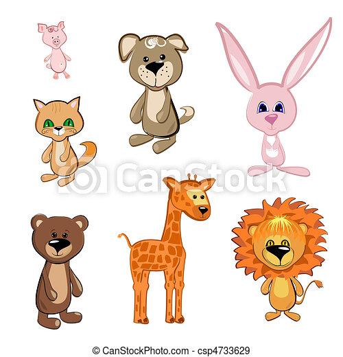 animali giocattolo - csp4733629