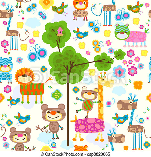 animals background - csp8820065