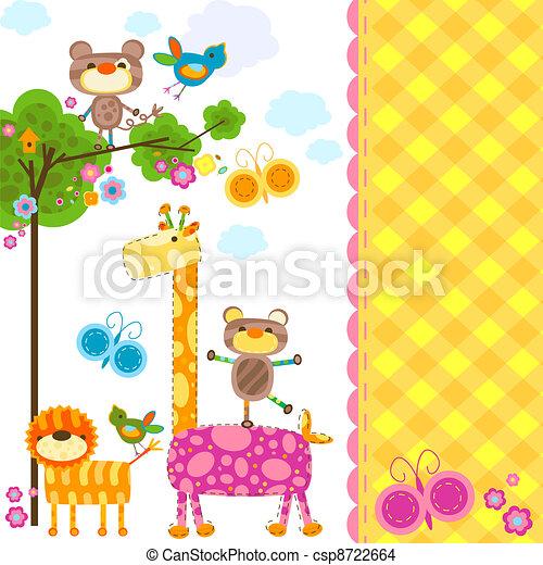 animals background - csp8722664