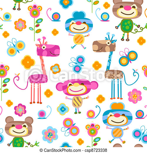 animals background - csp8723338