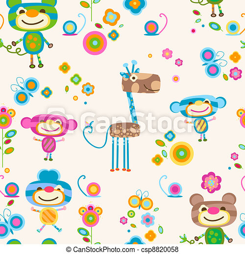 animals background - csp8820058