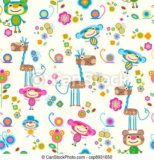 animals background - csp8931650