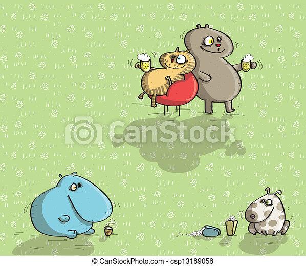 Animals Having Fun No.9 - csp13189058
