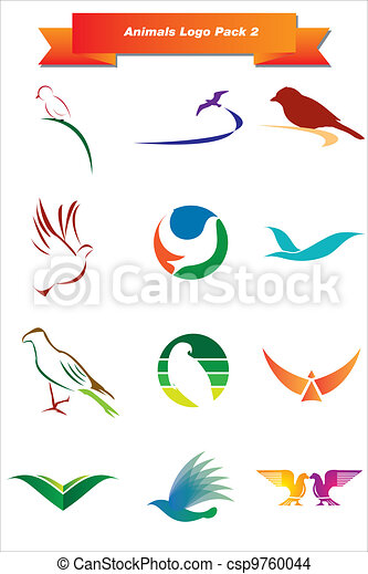 Animals Logo Pack 2 - csp9760044