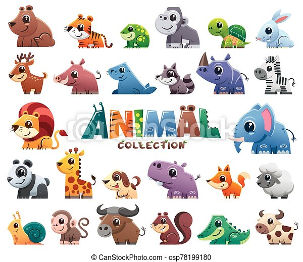 Animals set - csp78199180