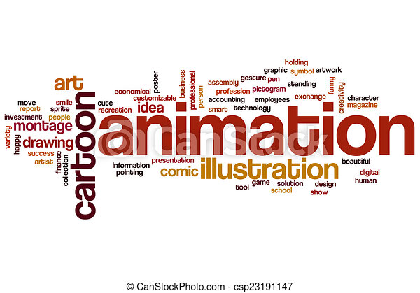 animation word