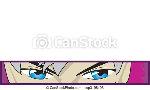 anime eyes - csp3198195