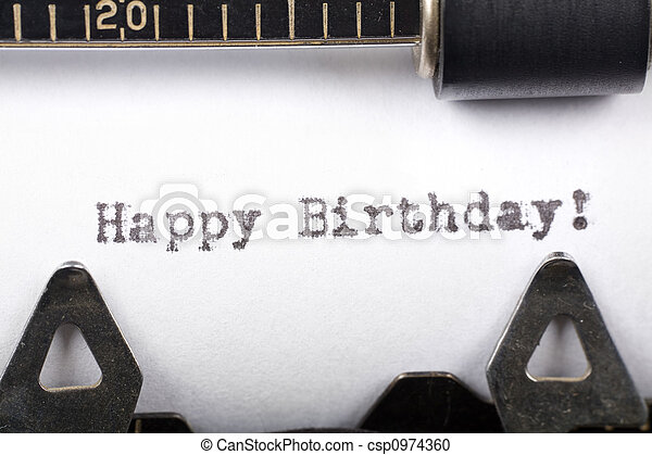 aniversário, feliz - csp0974360
