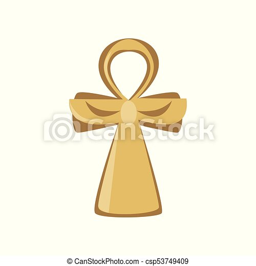 Ankh Cross Religious Sign Of The Ancient Egypt Symbol Of Life