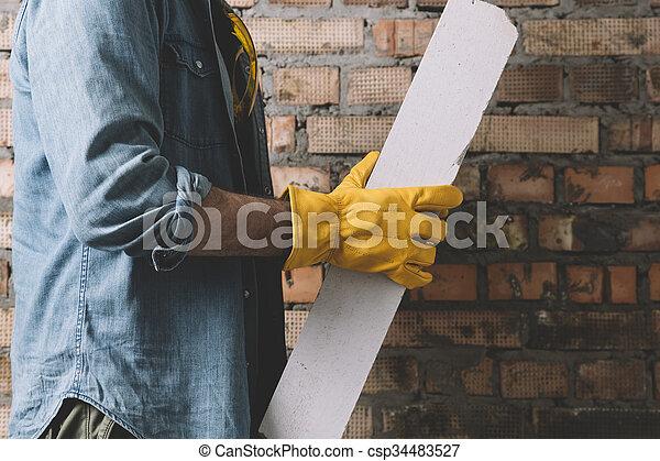 anläggningsarbetare - csp34483527