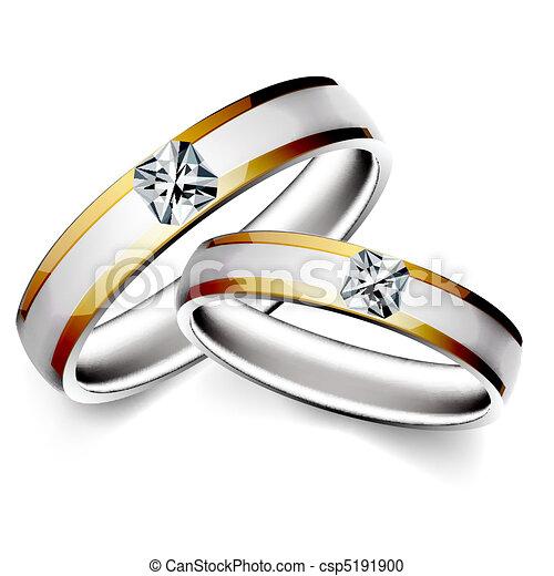 anneau mariage anneau fond blanc illustration mariage clipart vectoriel rechercher. Black Bedroom Furniture Sets. Home Design Ideas