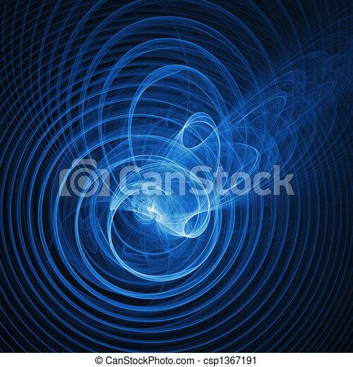 anneau, vague - csp1367191