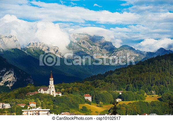 Annecy Basicila Visitation Church Alps H - csp10102517