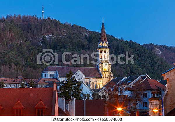 Annecy. Basilica Visitation. - csp58574888