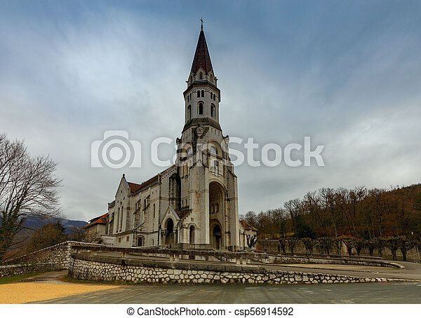 Annecy. Basilica Visitation. - csp56914592
