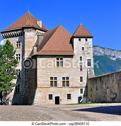 Annecy castle - csp38409110