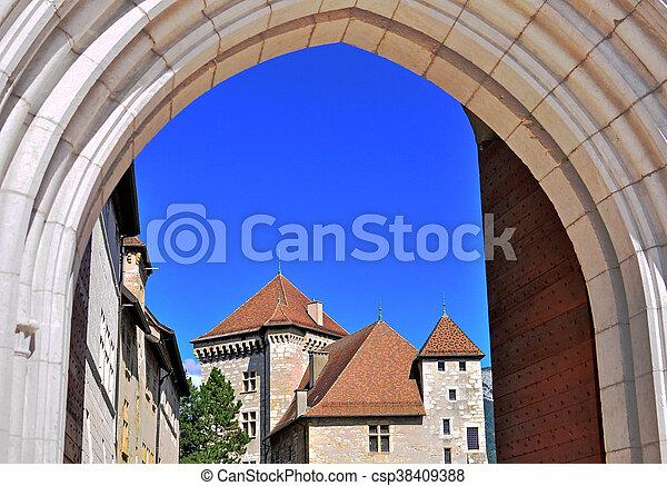 Annecy castle - csp38409388
