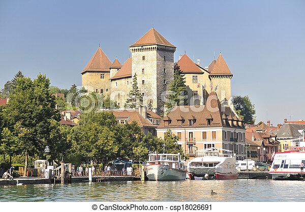 Annecy castle - csp18026691