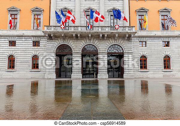 Annecy. City Hall. - csp56914589