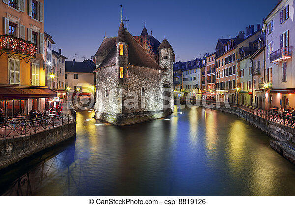 Annecy, France. - csp18819126