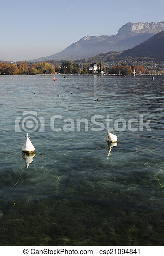 Annecy lake - csp21094841