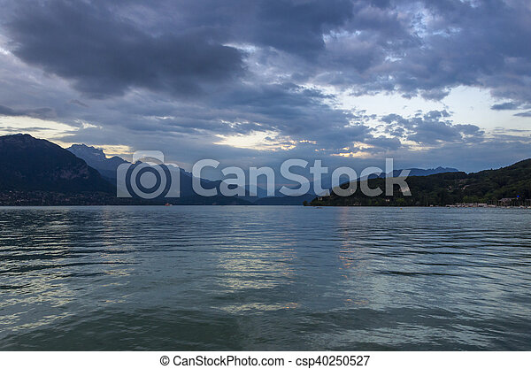 Annecy lake - csp40250527