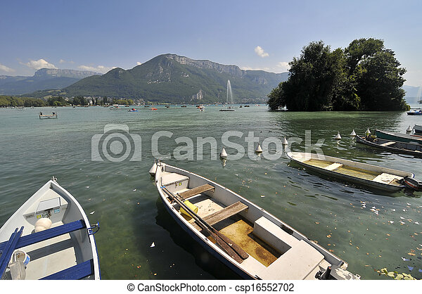 Annecy lake - csp16552702