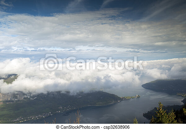 annecy lake - csp32638906