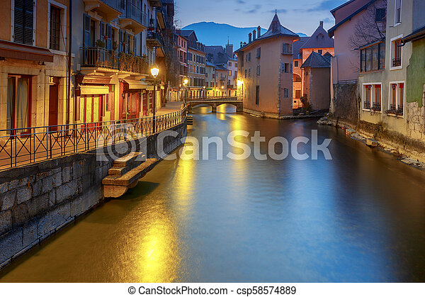 Annecy. Old city. - csp58574889