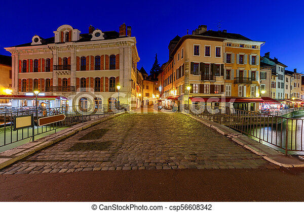 Annecy. Old city. - csp56608342