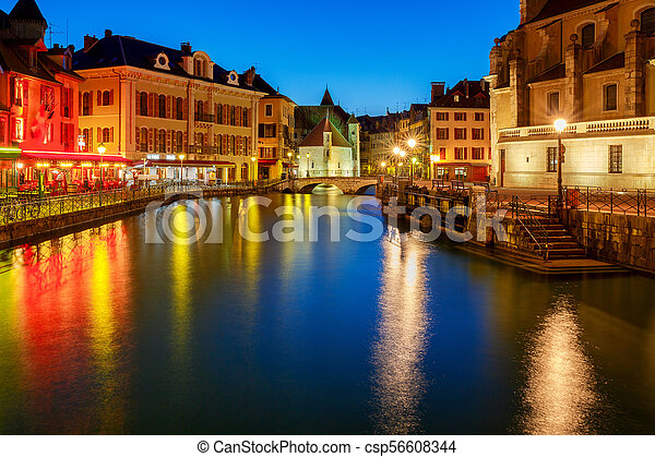 Annecy. Old city. - csp56608344